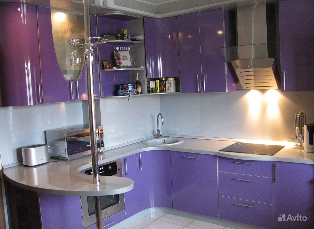 Кухня совместно с залом дизайн