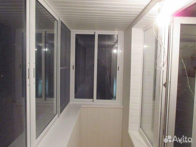 Остеклить балкон в хрущевке с крышей и выносом.