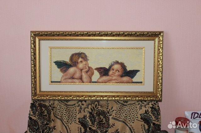 Вышивка крестом музейных картин