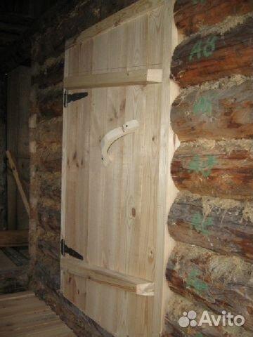 Дверь входная для бани своими руками