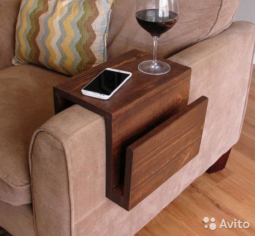 Как сделать подлокотник у дивана