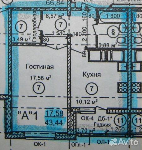 К квартира 45 м 10 18 эт