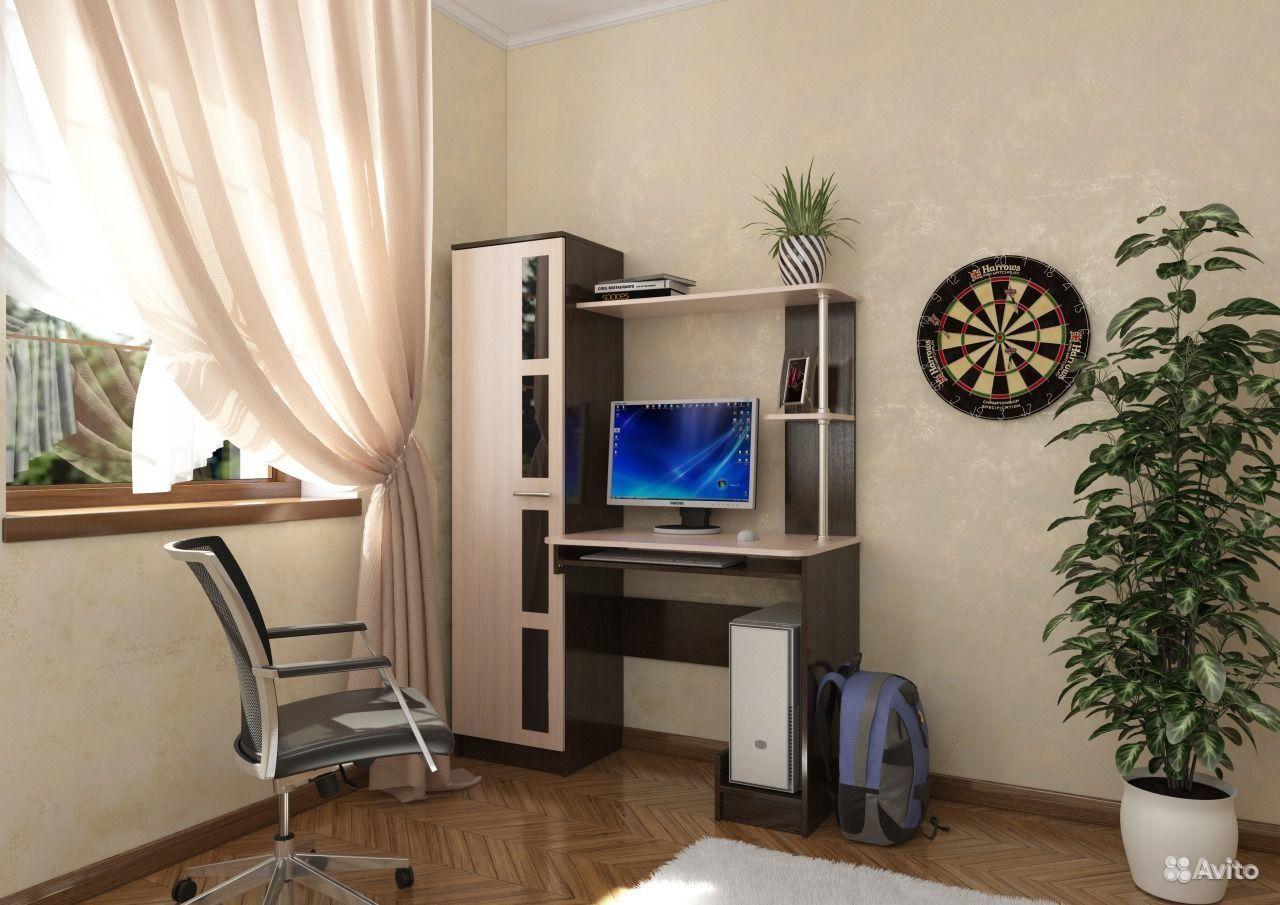 Купить стол компьютерный 1 (дуб венге/дуб млечный) возможно .