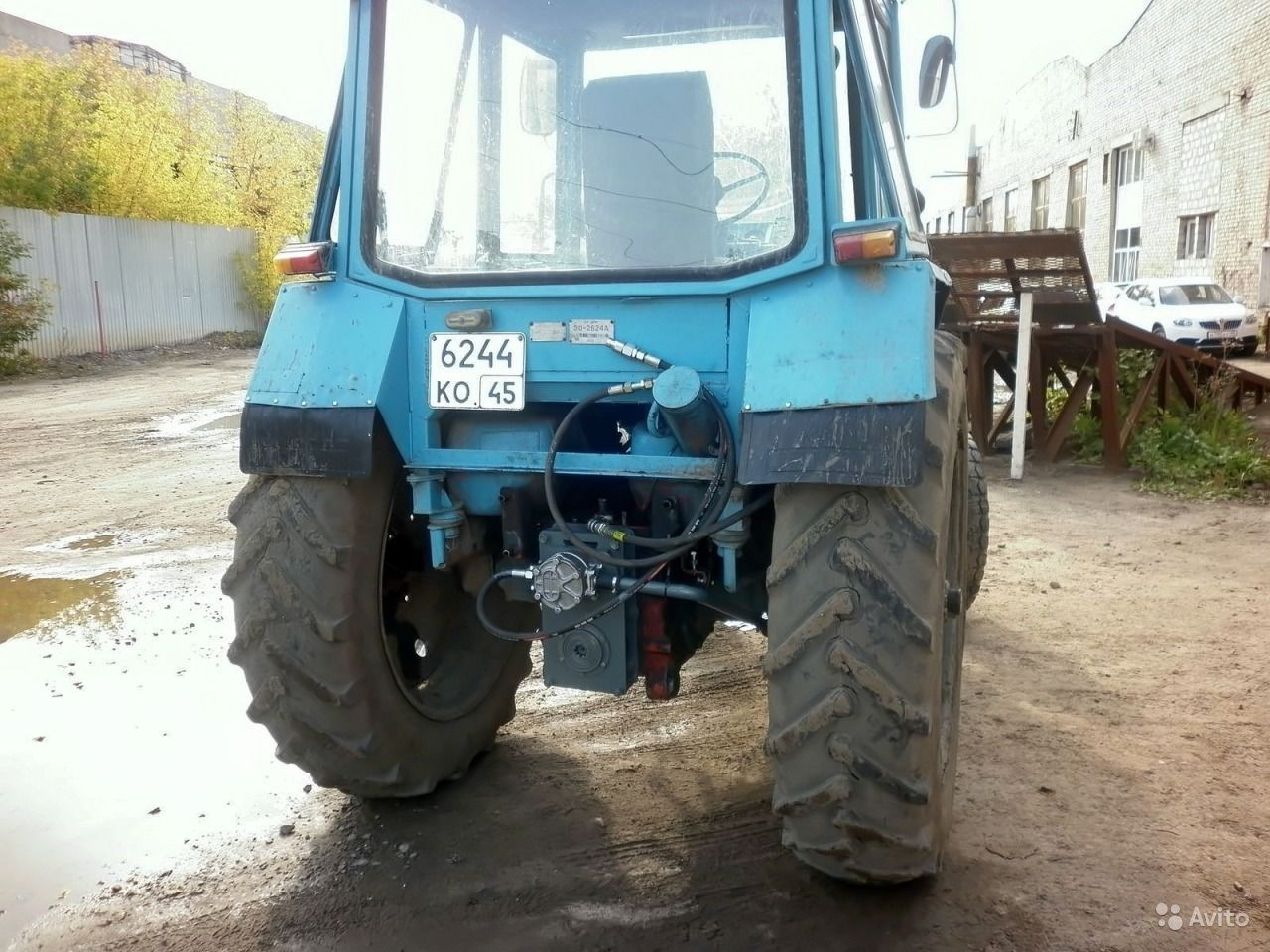 Авито саратов трактора бу т 40