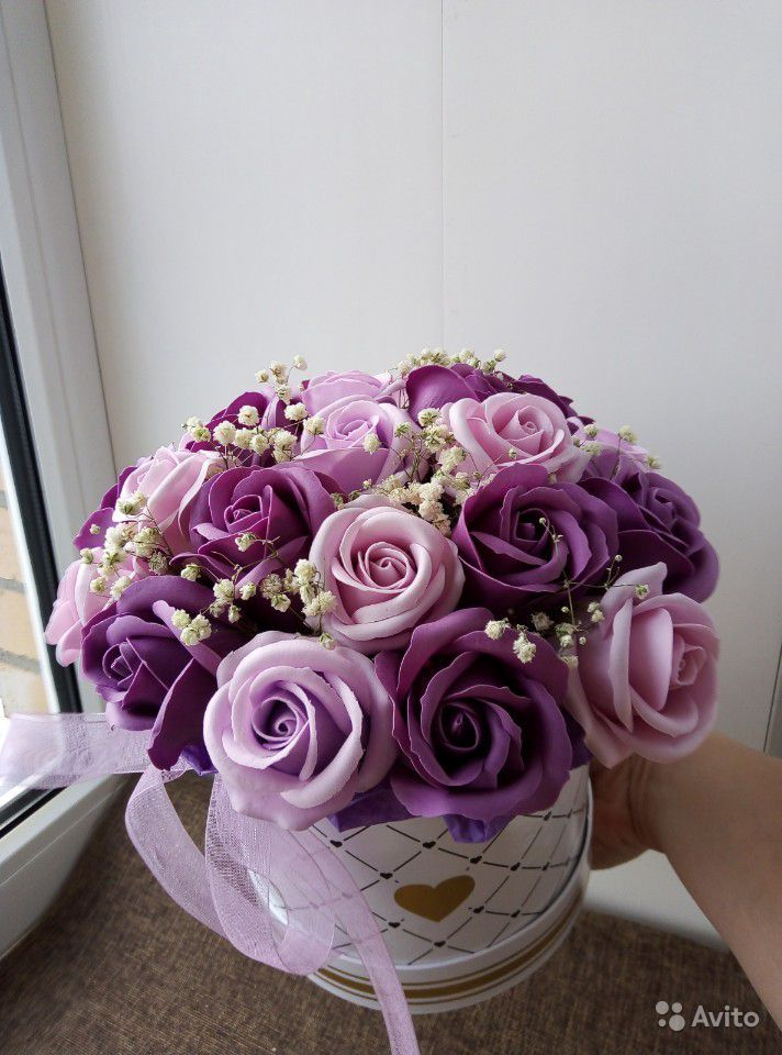 Мыльные цветы купить на Зозу.ру - фотография № 4