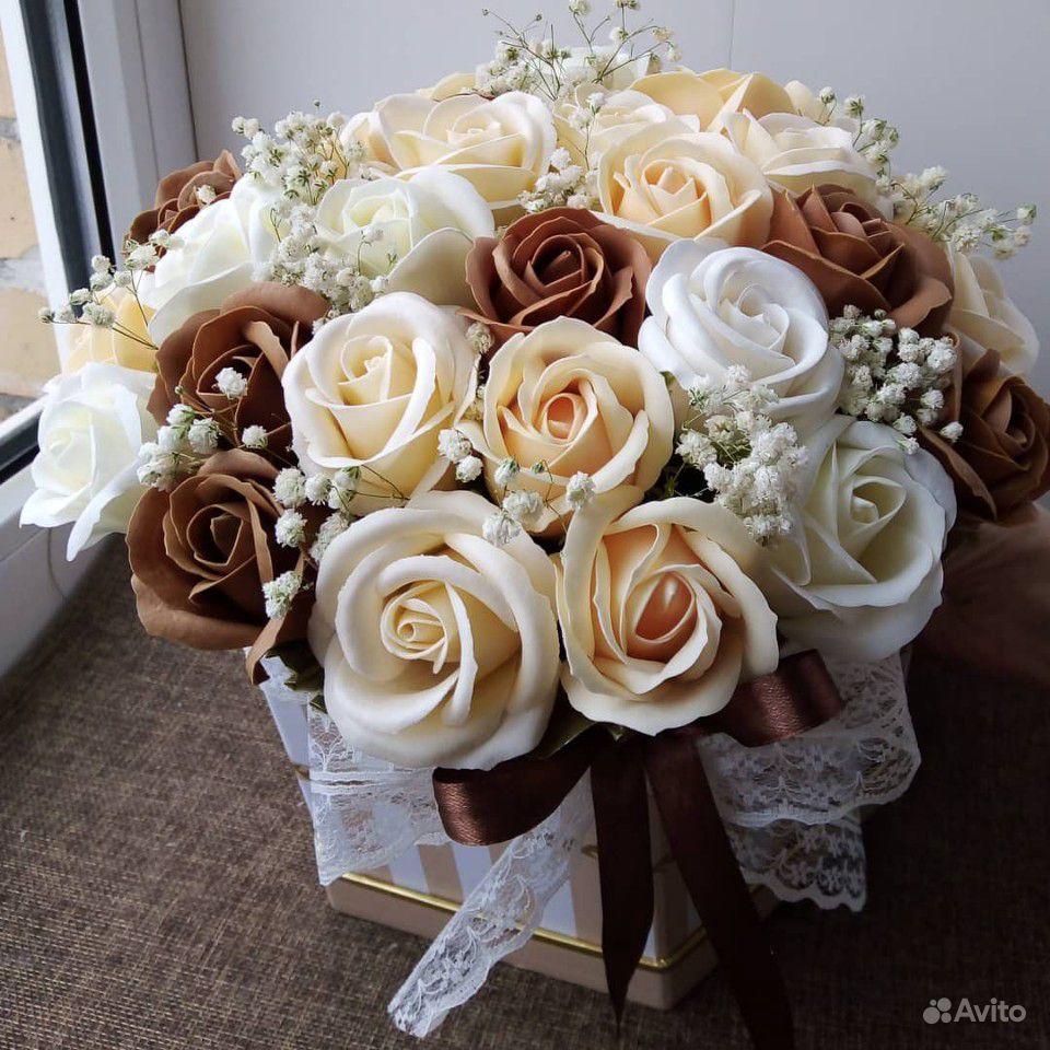 Цветы из мыла купить на Зозу.ру - фотография № 2