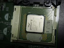 Intel Pentium 4 1600 Mhz SL5VL socket 423 — Товары для компьютера в Санкт-Петербурге