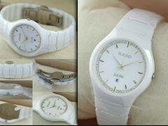 Белая керамика часы