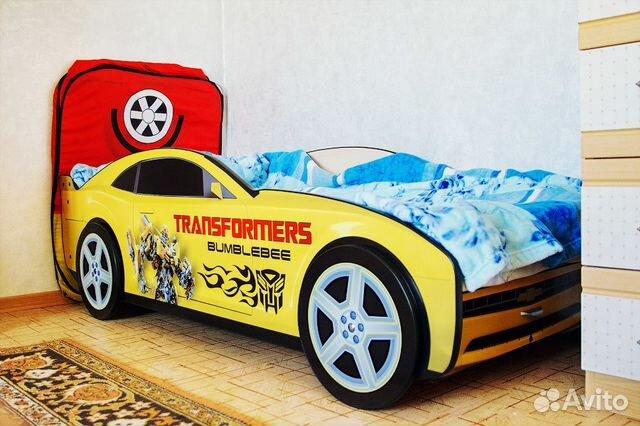 Детские кровати машины для мальчико  ульяновск