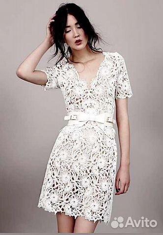Кружевное платье Valentino валентино купить в Москве на Avito ... acb742c318a