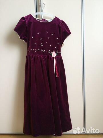 Платье для девочки авито москва