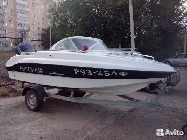 купить лодку нептун 450 на авито