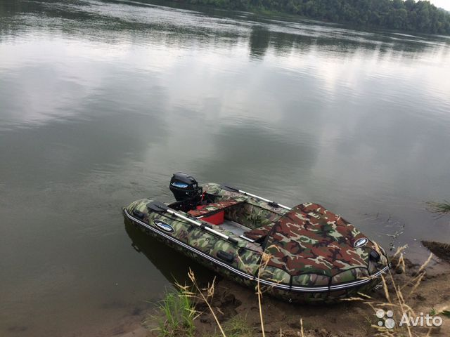 лодка гладиатор 370 с мотором 15