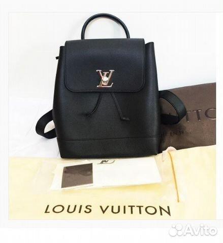 d3f0e4e203a6 Новый Лв Рюкзак Lockme Backpack Louis Vuitton LV купить в Москве на ...