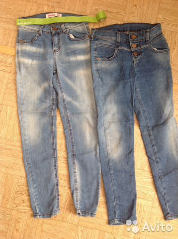 87a4c768843 Джинсы на девочку 5-6 лет Gloria Jeans