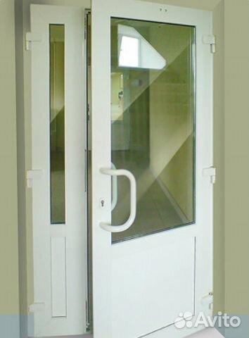 двери входные офисные стеклопакет
