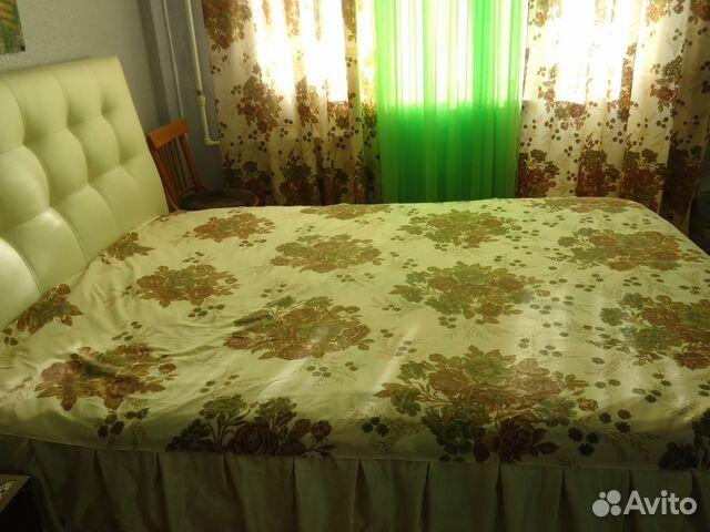 Покрывало на кровать и 2 портьеры Италия