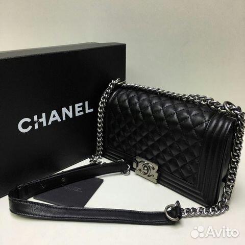 Le Boy Сумка Chanel Шанель Бой Кожа Клатч   Festima.Ru - Мониторинг ... 281bf1709ae