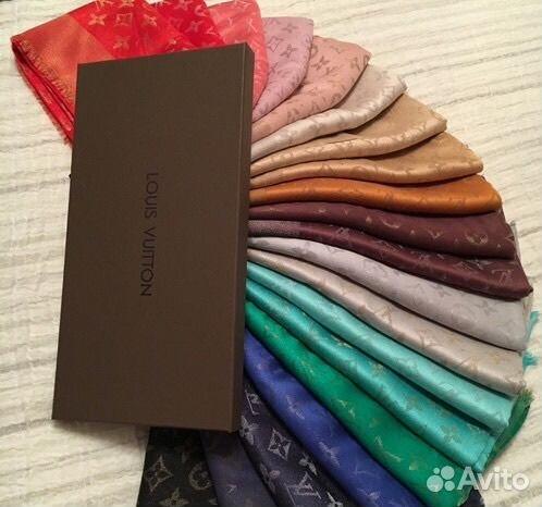 91c27f21fb3a Палантин Шаль платок шарф луи витон louis Vuitton купить в Санкт ...