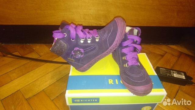 Новые ботинки Richter купить в Москве на Avito — Объявления на сайте ... 05d1b25a79a