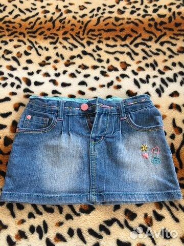 Юбка джинсовая 89107612232 купить 1