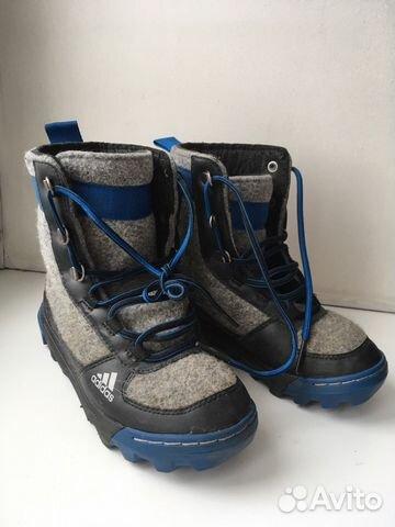 Войлочные ботинки Adidas (original) зимние   Festima.Ru - Мониторинг ... d1e72f7d732