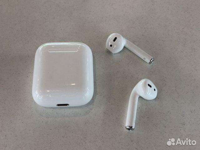 Airpods беспроводные наушники Apple купить в новосибирской области