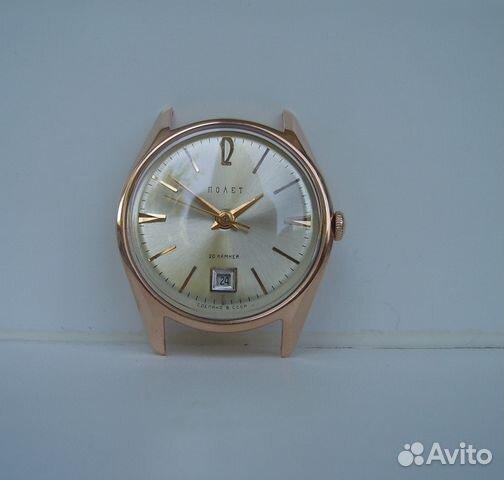 235055a7 2/Золотые часы Полет 2416, СССР 583 пр купить в Республике Крым на ...