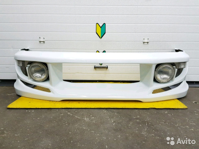 89625003353 Бампер передний G-West Subaru Impreza, GC8, EJ20