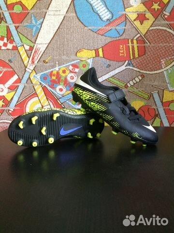 645dae64 Бутсы Nike JR HyperVenom PHD 2 FG 852479-017   Festima.Ru ...