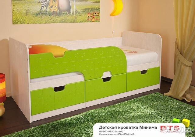 детская кровать минима новая со склада купить в ивановской области