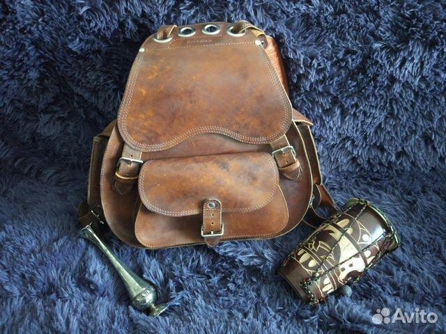 2cf8bca97d5f Кожаный рюкзак   Festima.Ru - Мониторинг объявлений