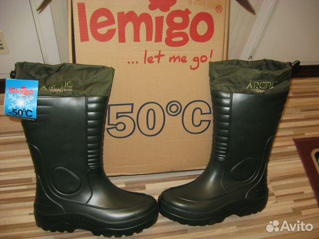 Зимние сапоги lemigo arctic termo -50 С  (новые)  74471090f7b