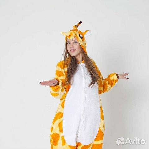 Пижама Кигуруми Жираф  cb96eadc8368d
