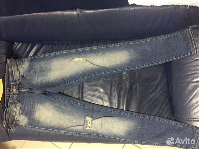 e9d1ed8573e Скини джинсы H M с высокой талией