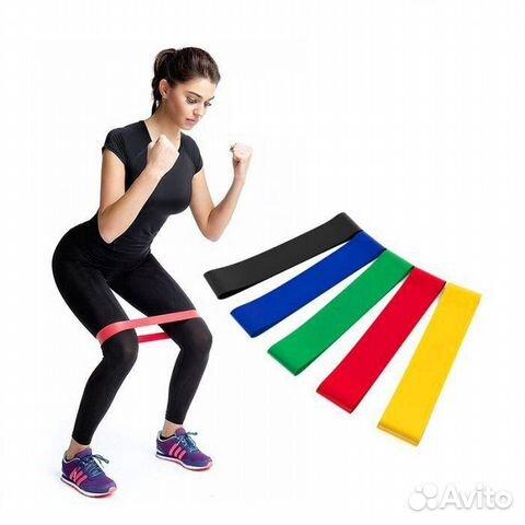 ab74aeefdf0fa Резинка для фитнеса godo №1 сопротивление 3,5 кг купить в ...