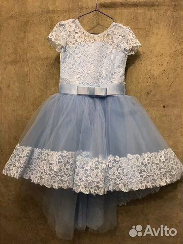 d3357af7c68 Детское бальное платье (5-6 лет