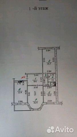 Продается трехкомнатная квартира за 3 000 000 рублей. г Орёл, ул Планерная, д 52.