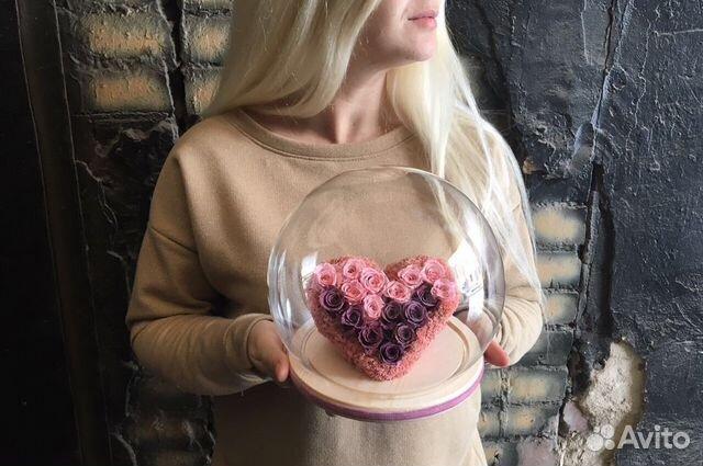 сердце в колбе фото поселок