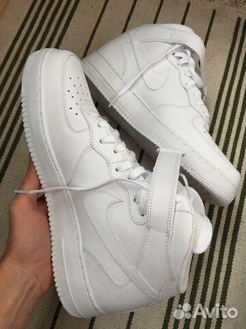 new york 8096d 0e0da Кроссовки Nike Air Force 1 Белые данки 46 размер купить в ...