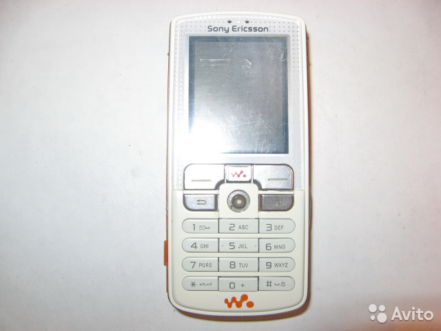 Sony Ericsson Walkman W800i White новый