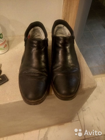 3be862695 Кожаные мужские ботинки купить в Санкт-Петербурге на Avito ...