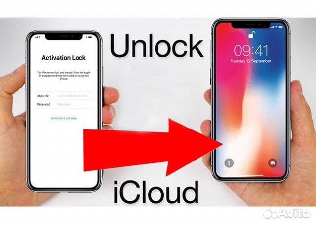 как разблокировать iphone icloud