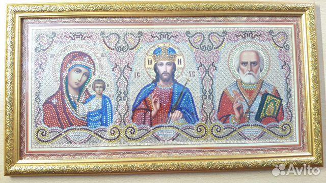 Алмазная живопись (мозаика) Домашний Иконостас  купить 1