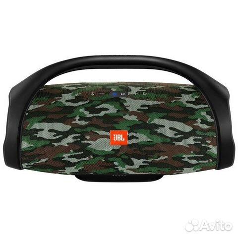 Новая Беспроводная акустика JBL Boombox хаки черна 89874729154 купить 8