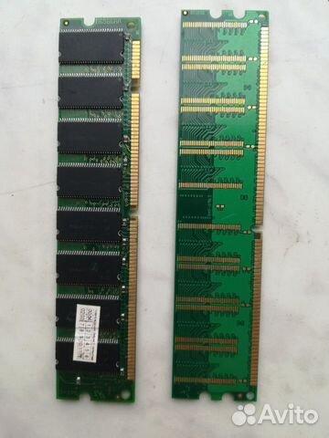 Оперативная память DDR и sdram на 256 Мб  купить 2
