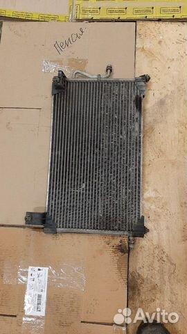 Радиатор кондиционера на Daewoo Matiz Дэу матиз