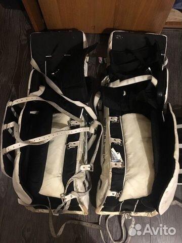 Хоккейные вратарский щитки 89001986232 купить 4