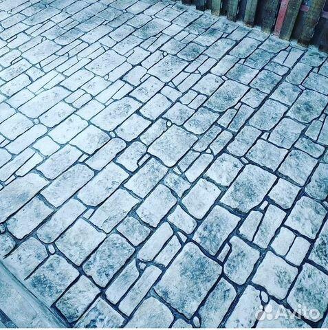 печатный бетон ростов