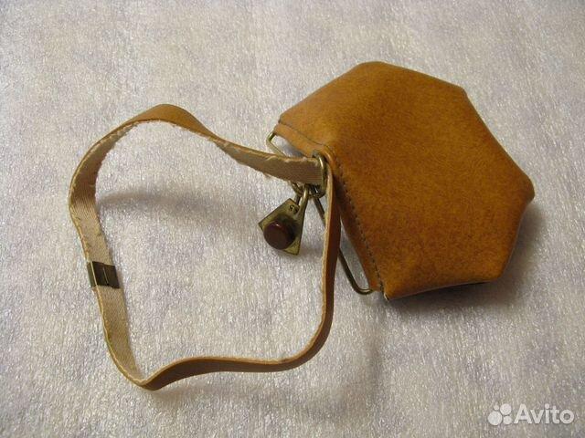 Кошелечек декоративный необычный, СССР, 1970-е 89139880630 купить 4